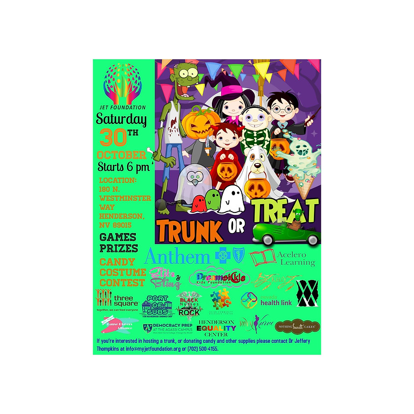 JET Foundation Trunk or Treat and Community Resource Fair