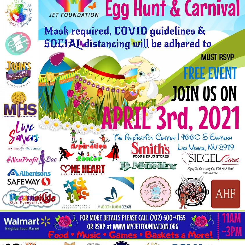 JET Foundation's 3rd Annual Easter  Egg Hunt & Carnival