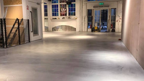 Microcement Hull, A polished concrete alternative