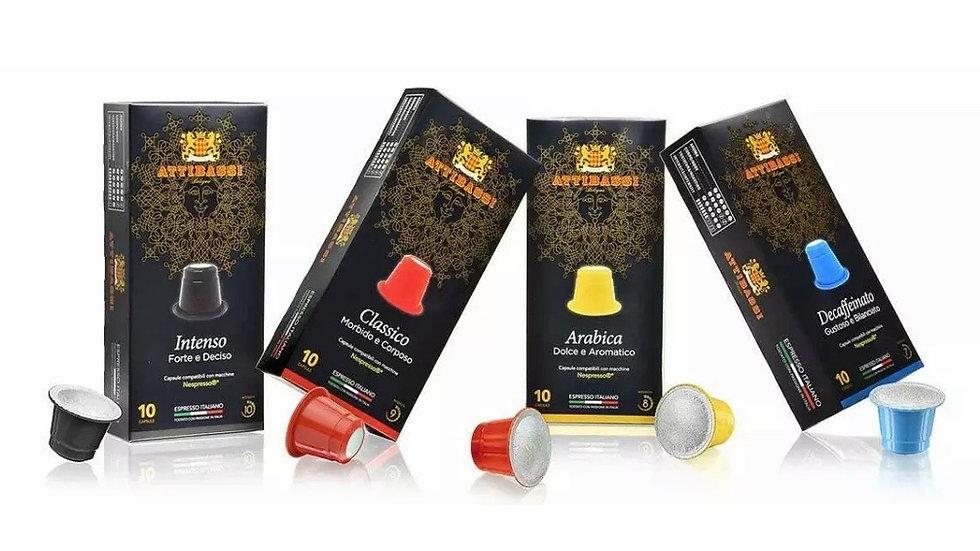 Attibassi Coffee Pods 40 pcs
