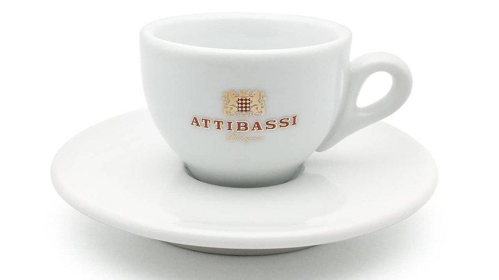 Attibassi Espresso Cup & Saucer
