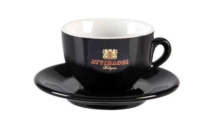 Attibassi Ceramic Cup and Saucer