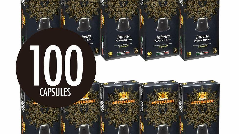 Attibassi Coffee Pods 100 pcs