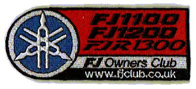 Club embroidered badge