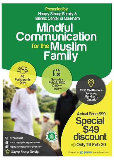 MINDFUL COMMUNICATION FOR THE MUSLIM FAMILY