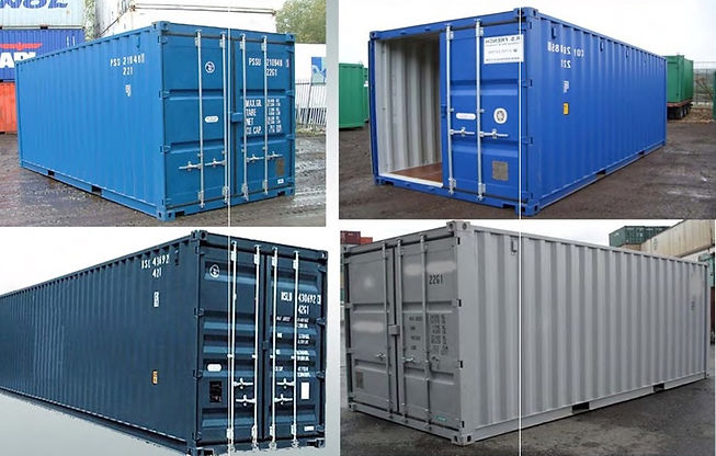 Supply of different size cargo container