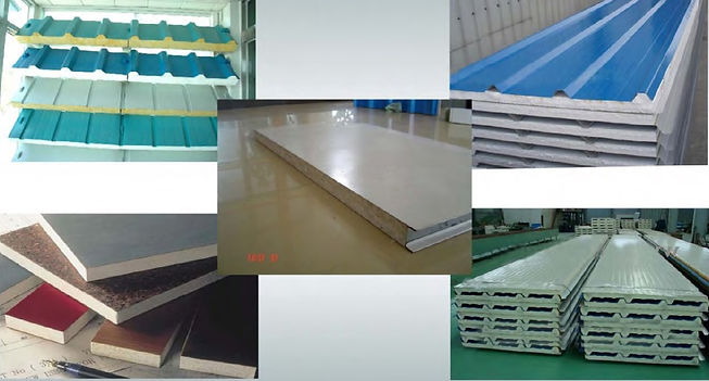 Supply of Different Sandwich Panels and