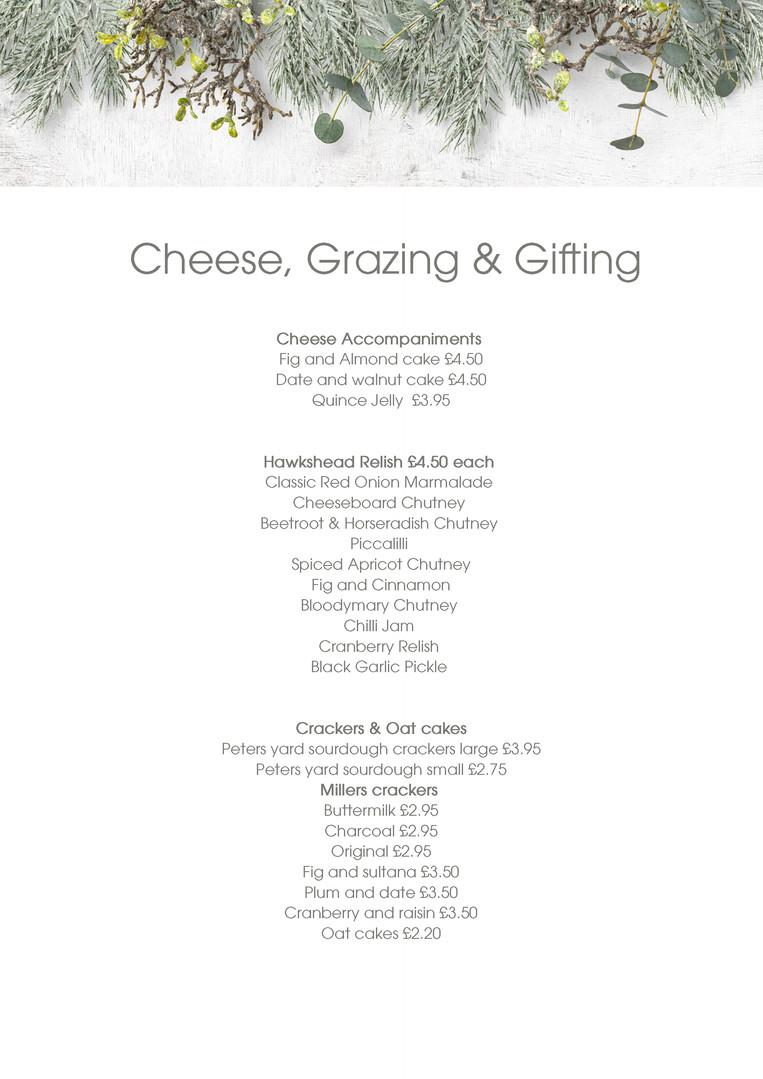 Cheese Accompaniments