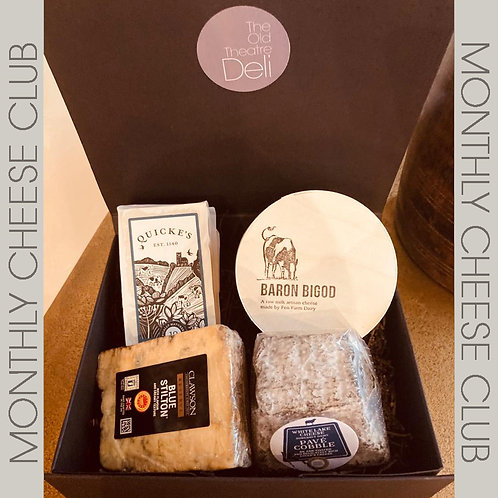 Monthly Cheese Club - £30 per month