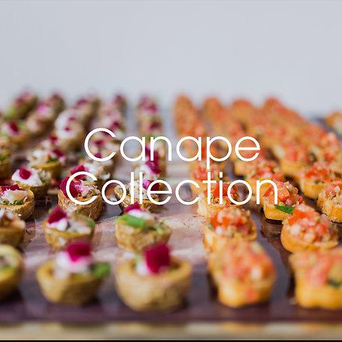 Canape Collection - £12 per head