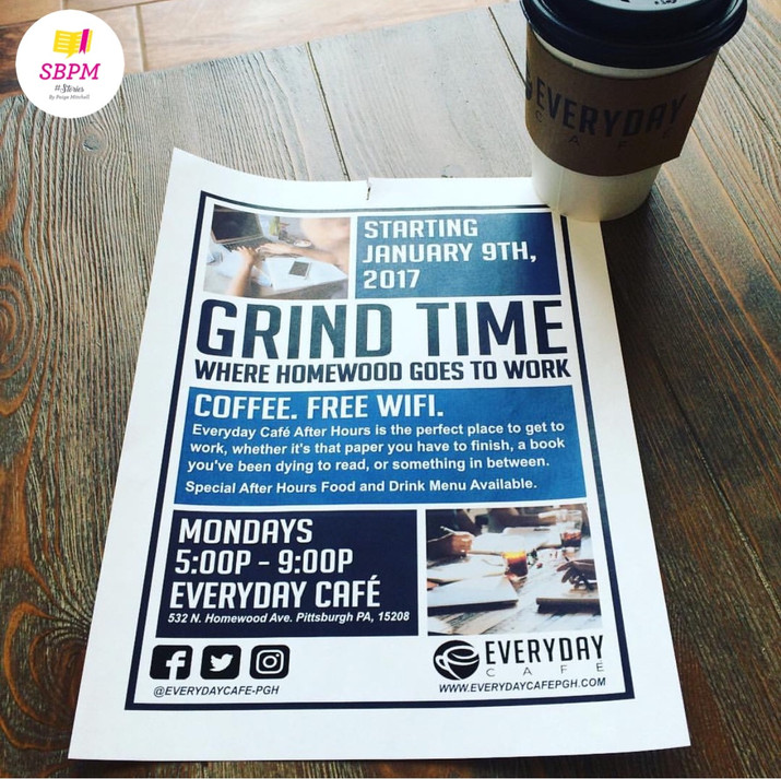 Grind Time at Everyday Café