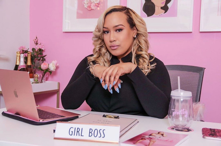 Morgan Helps Boss Babes Bloom!