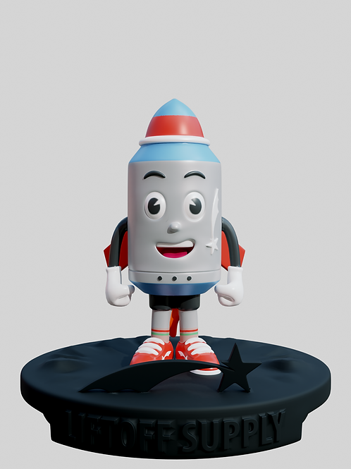 Liffy The Rocket 9' (Pre Order)