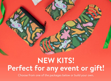 NEW KITS! Perfect for events, new hire packages, or holiday gifts!