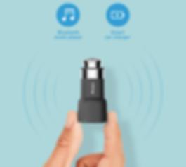 Roidmi - chargeur téléphone mains libres pour voiture, son et musique en route