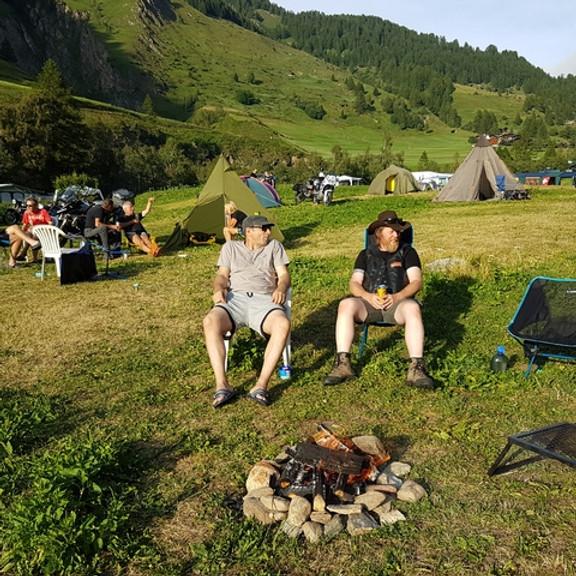 Campingwochenende im Binntal Fr. 3. bis So. 5. Sept.