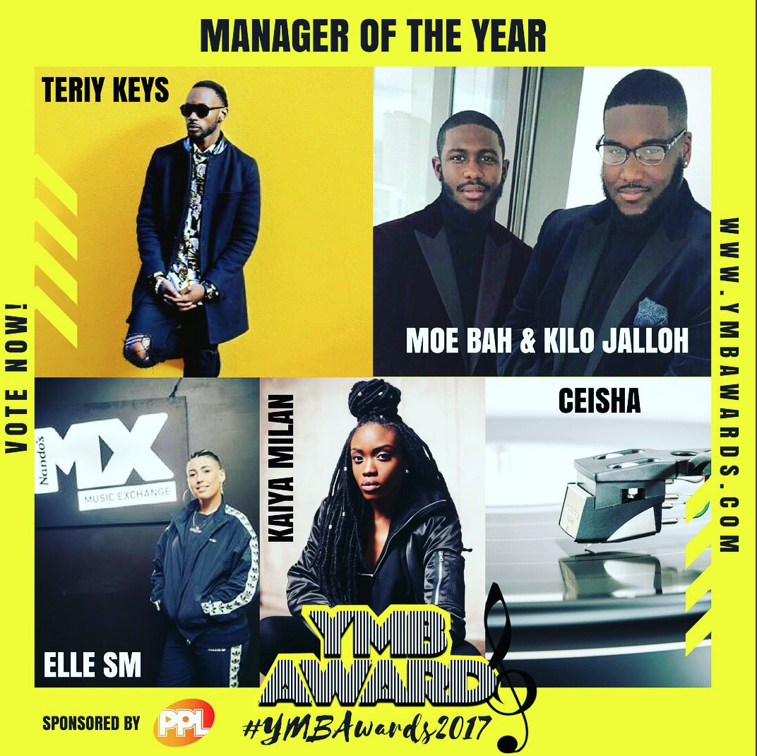 YMB Awards nominees