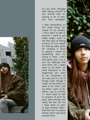 Feat Issue00 x Gillian