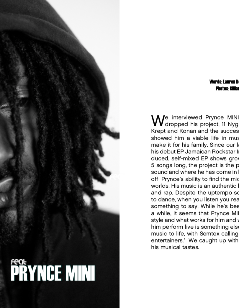 Feat Issue00 x Prynce MINI