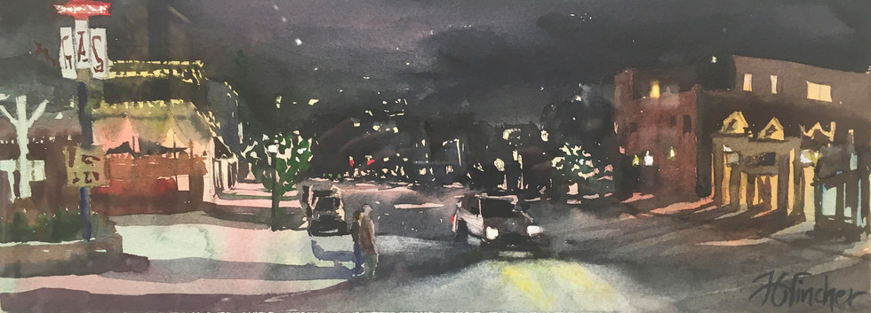 """Main Street Steamboat Award of Excellence; Awarded to: Jonalyn G. Fincher, """"Night Crossing"""""""