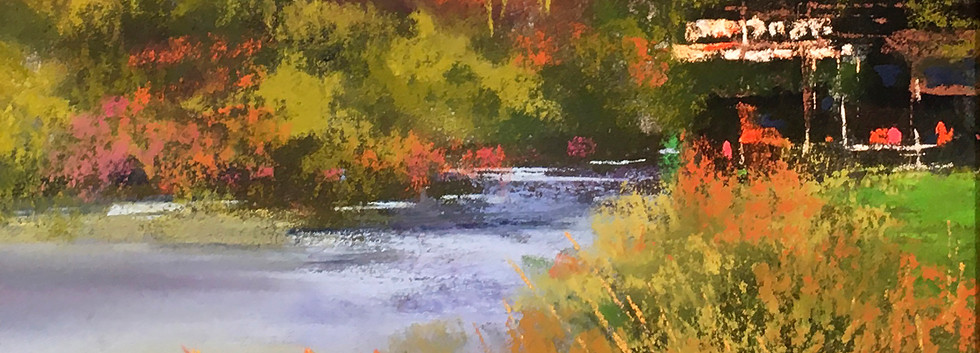 """2nd Place - Bonnie Griffith, Sapporo On Tap (Pastel; 8"""" x 8')"""