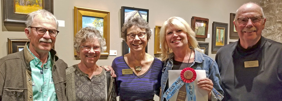 """Historic Routt County Award of Excellence; Awarded to: Robine Wright, """"St. Paul's Episcopal Church"""""""