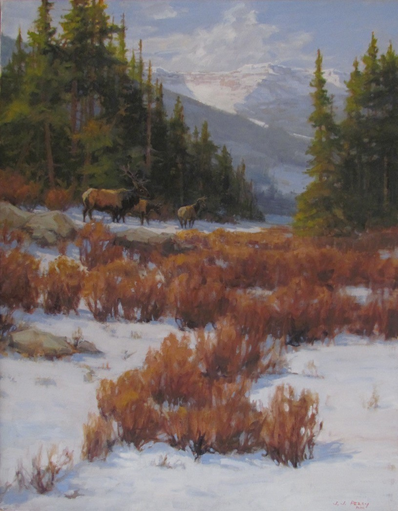 """Colorado Wildlife"" by Jean Perry."