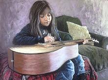 Tousey - Sharon Pomales - Little Girl wi
