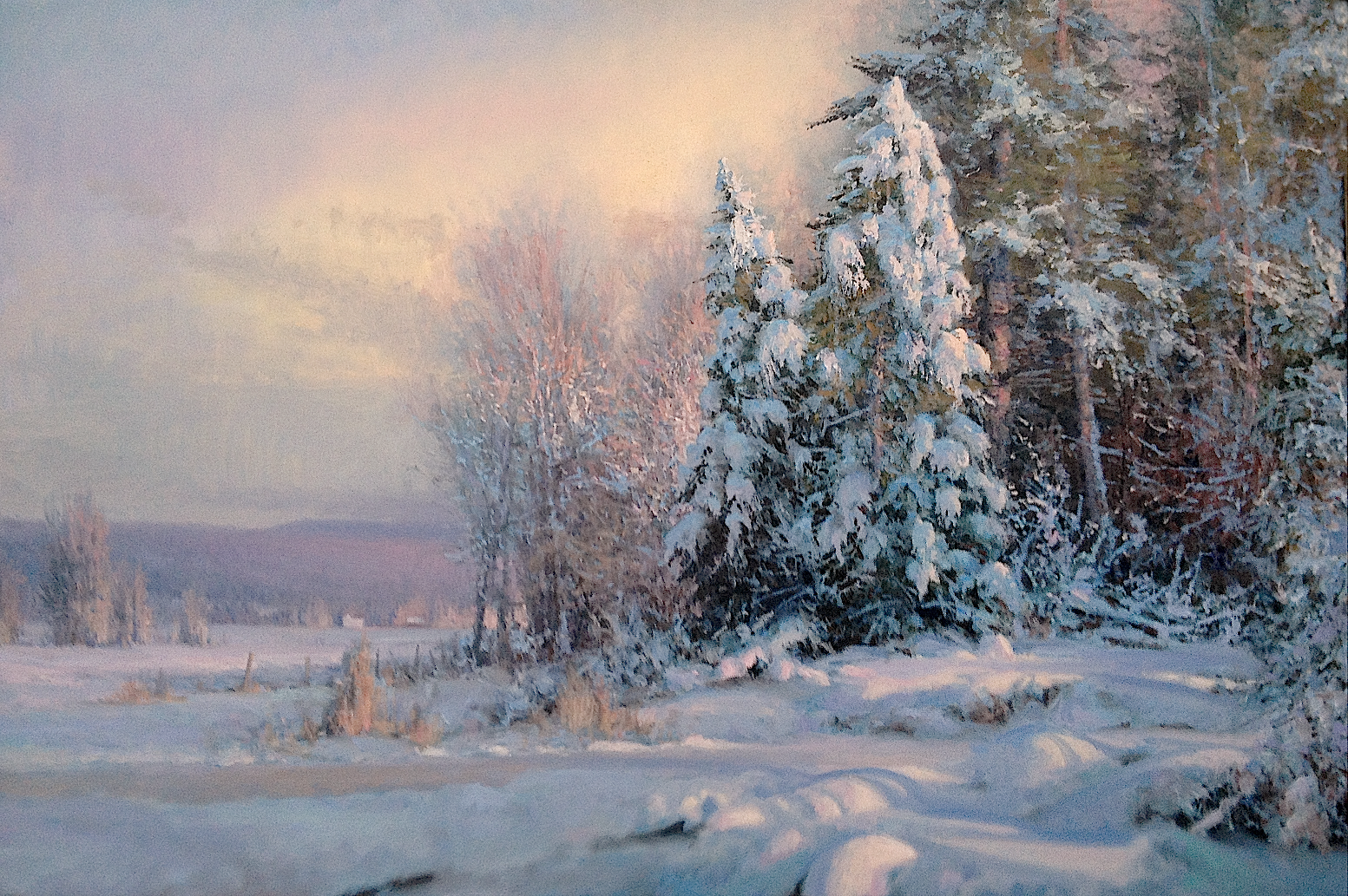 """Winter's Elegance"" by M. Godfrey"