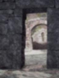 DL Monastic Ruin at Glendalough 60 x 78.