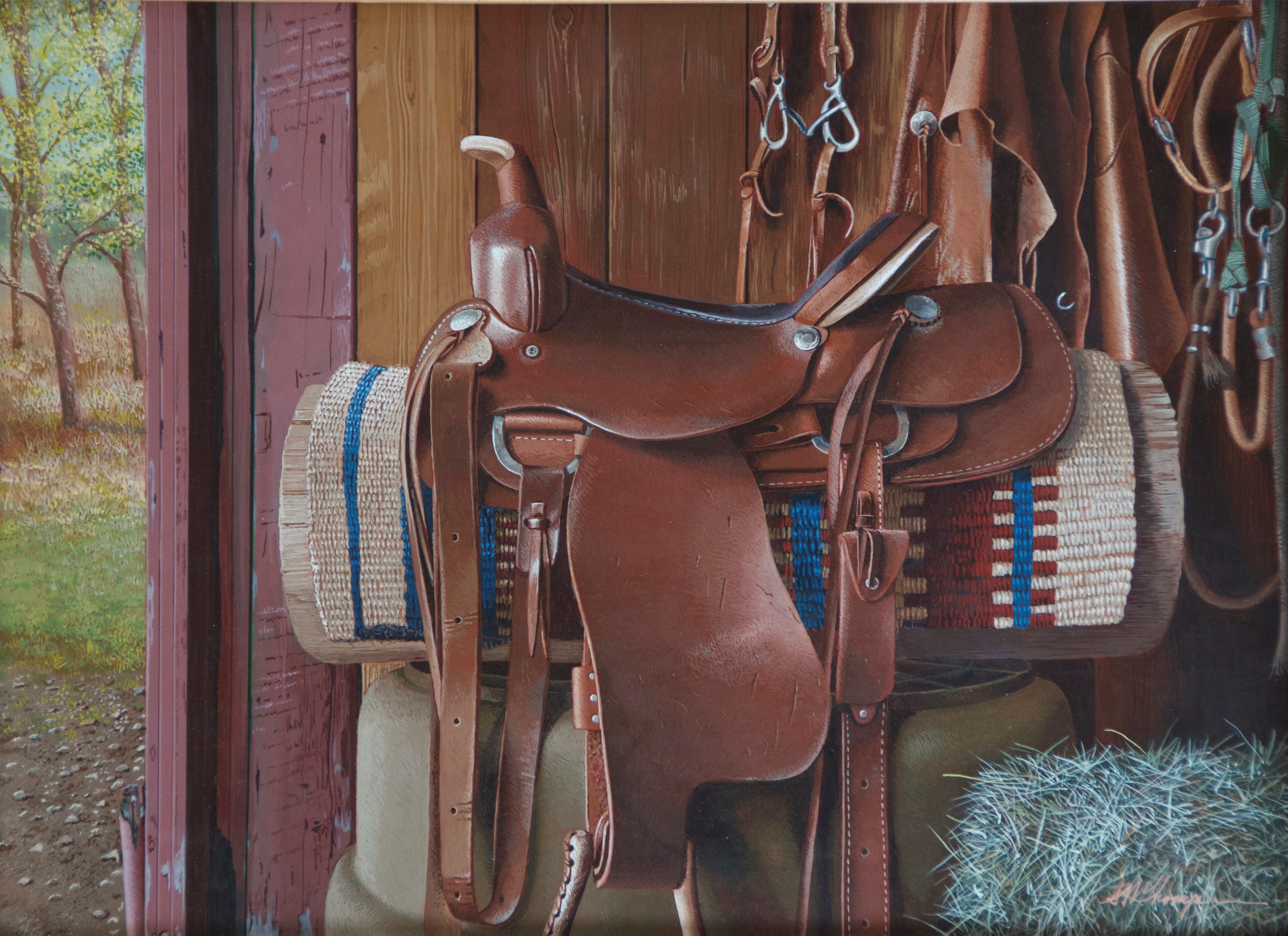 """Saddle Up"" by Mark Thompson"