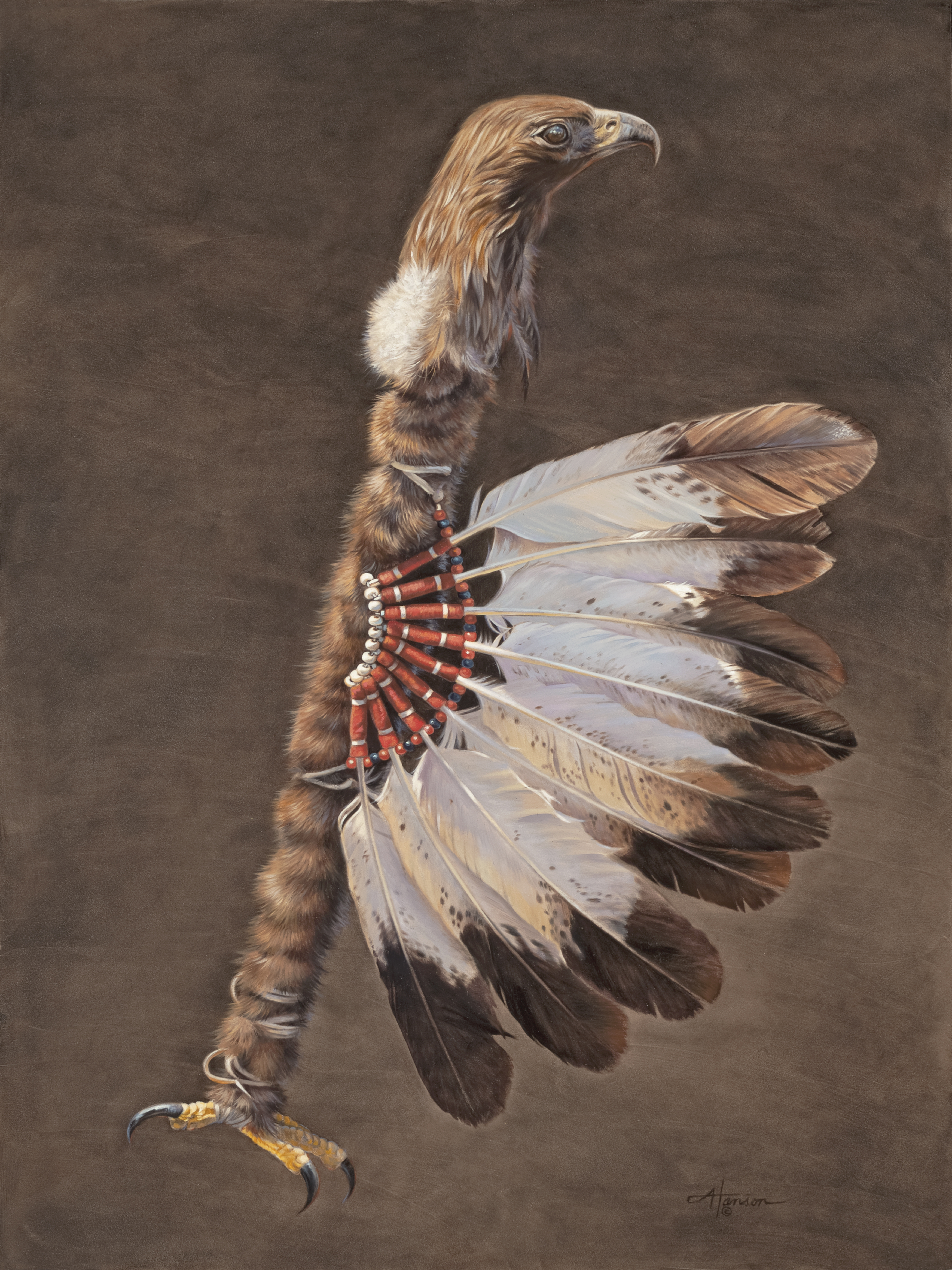 """Eagle Staff"" by Ann Hanson"