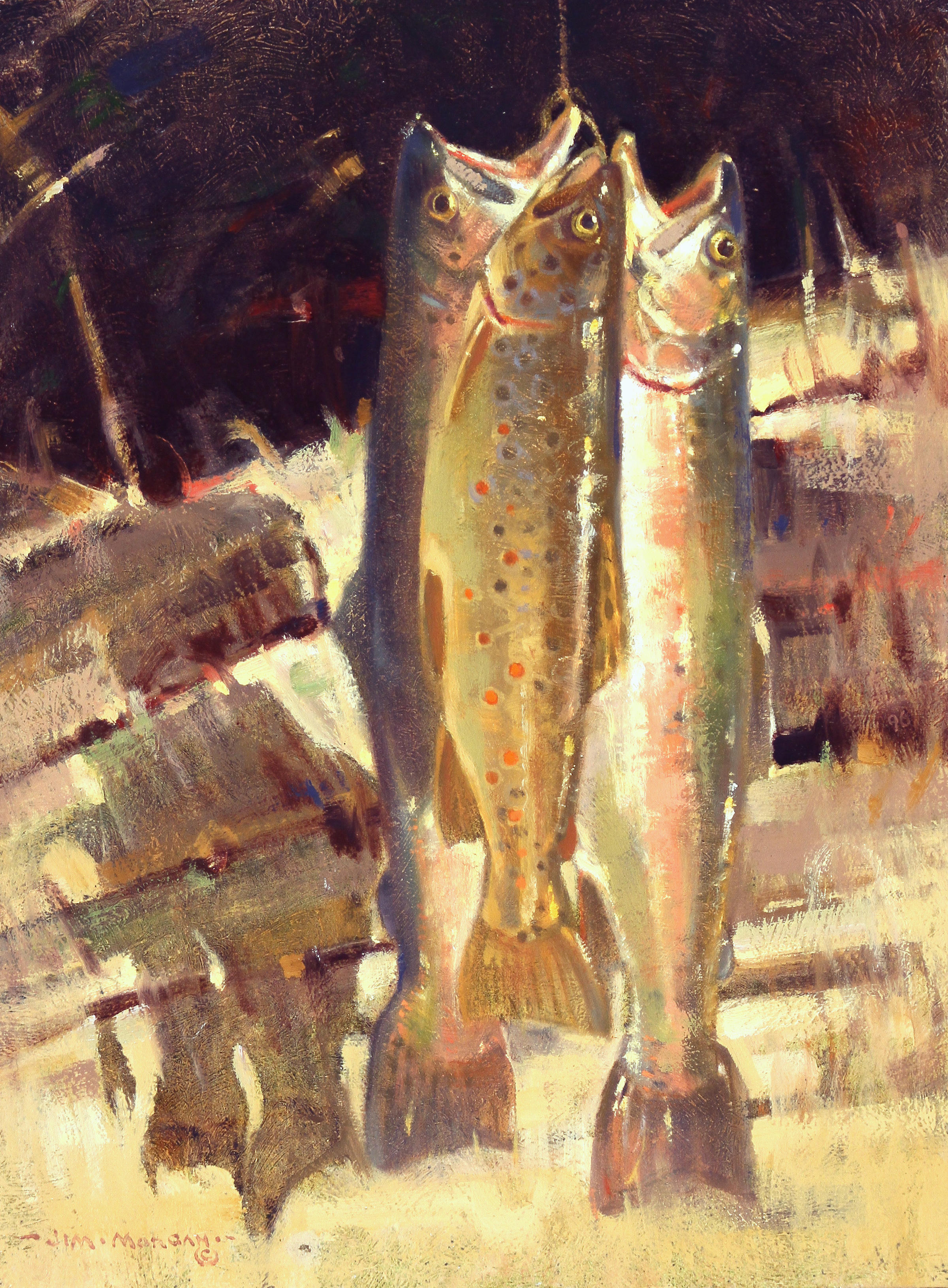 Two Rainbows and a Brown