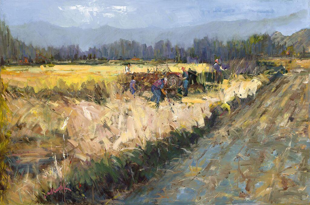 CJ Lukacsik The Harvest