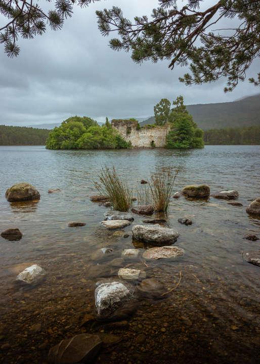 Loch An Eilein Reflection