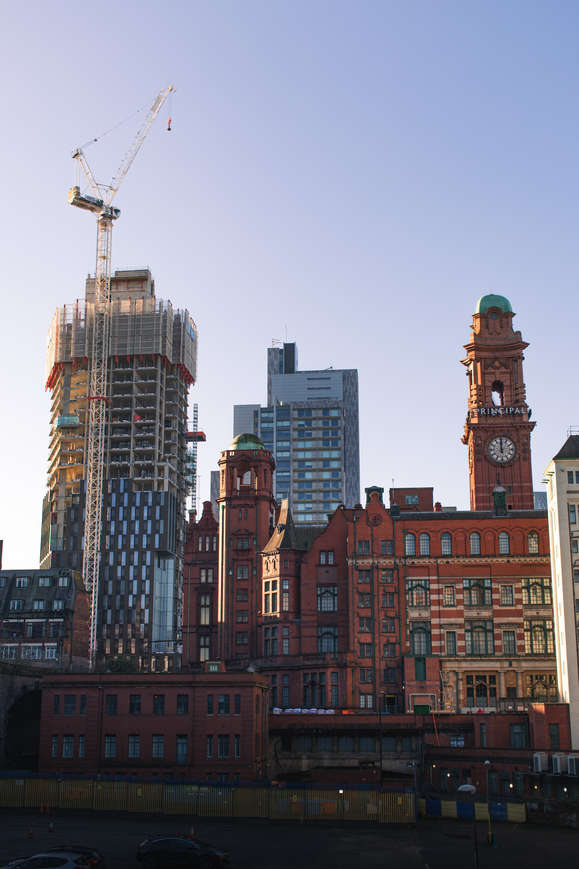 Manchester Skyline Changes