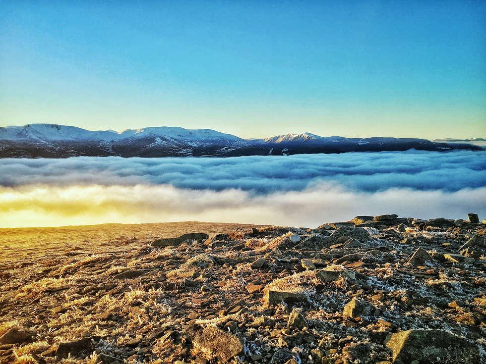 Cairngorms Cloud Inversion
