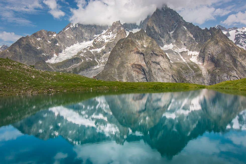 Mont Blanc Reflection