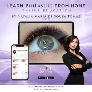 Aprenda Philashes em casa!