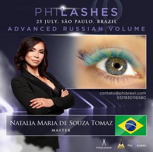 PhiLashes VOLUME ADAVACED  25 JULHO 2021