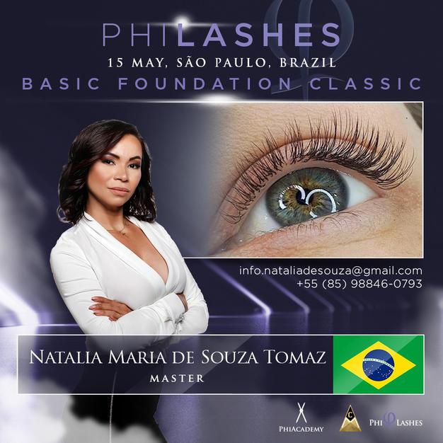 PhiLashes  Sao Paulo 15 de  Maio