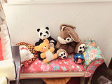Peluches cabinet