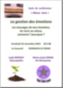 Couarail 22 novembre 2019 conférence