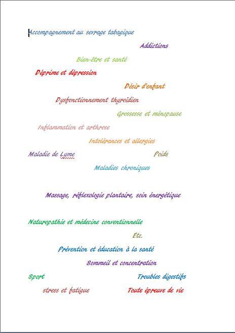 Des raisons pour réaliser un bilan naturopathique