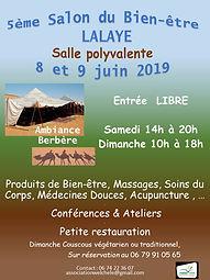 Salon du bien-être 2019 Lalaye