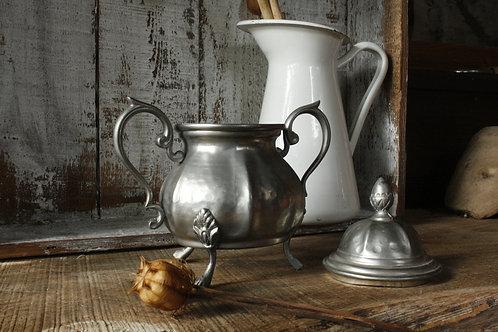 Zuccheriera Calderone Peltro - Cup Of Vintage