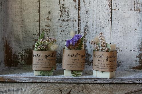 Secret Garden - Mini Size - sapone naturale SU ORDINAZIONE