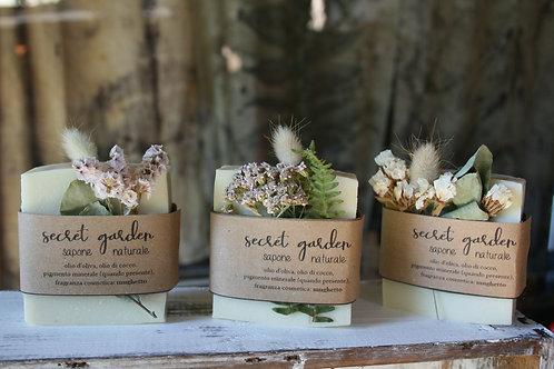 Secret Garden - Reg. Size - sapone naturale SU ORDINAZIONE - sapone vegan - sapo