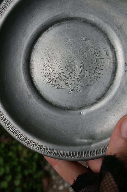 Piattino di Acciaio Vintage
