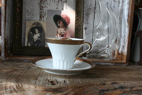 ARADIA - candela in Tazza da tè  RHONE oro